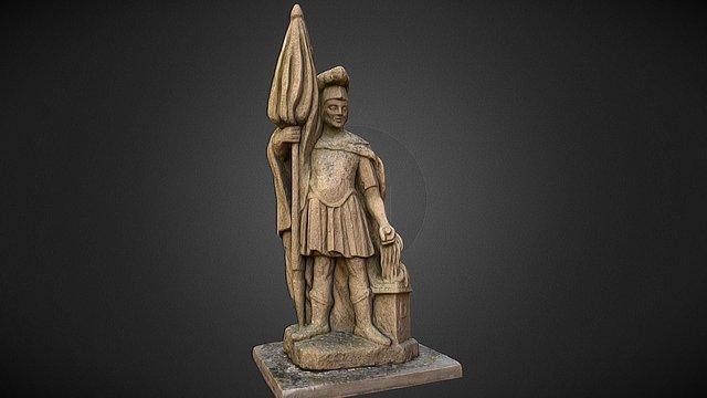 Sculpture of St.Florian 3D Model