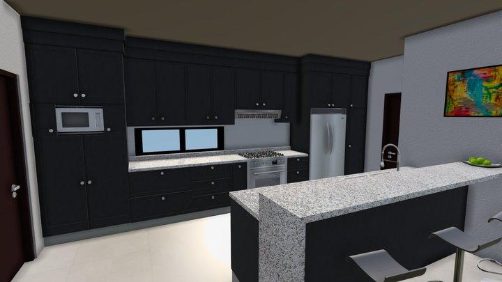 05. Diseño cocina 3D Model