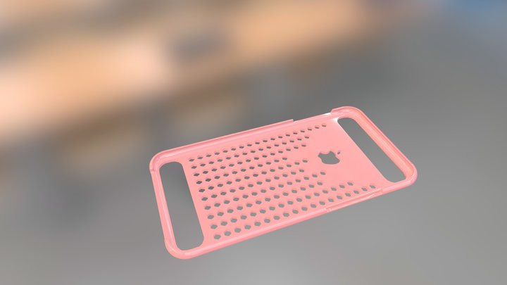 Patterned Iphone6+case 3D Model