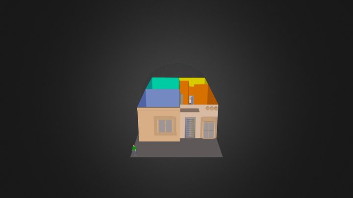 Pto Esmeralda Casa 3D Model