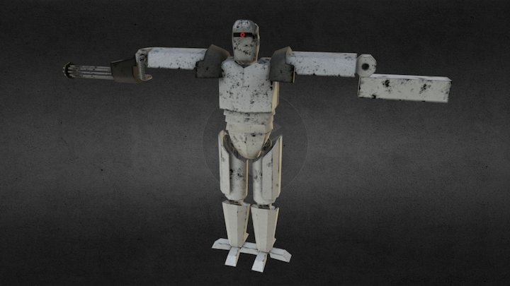 Heavy Unit - Bytesonians 3D Model