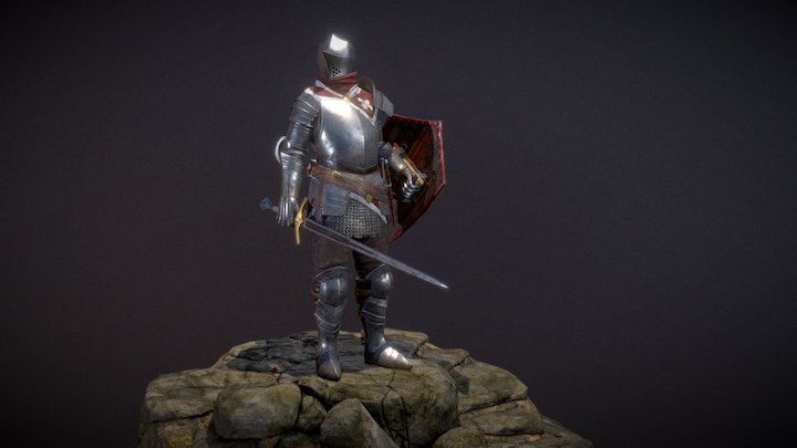 Swadian Champion Armor 3D Model
