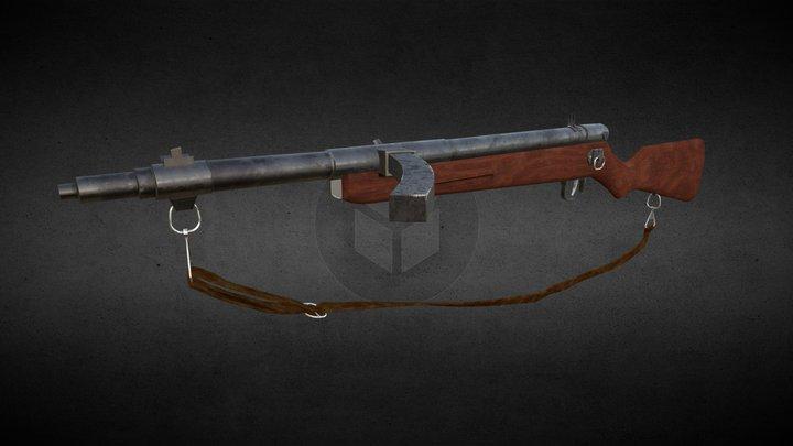 Type 100 Smg 3D Model