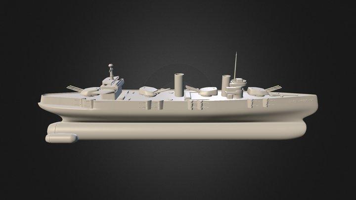Petropavlovsk 3D Model