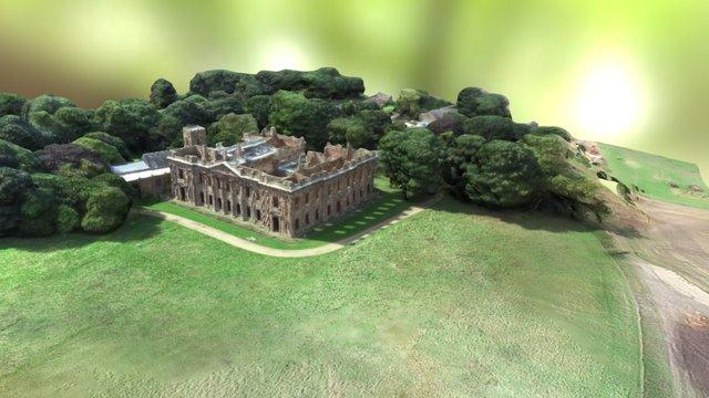 Sutton Scarsdale Hall 3D Model