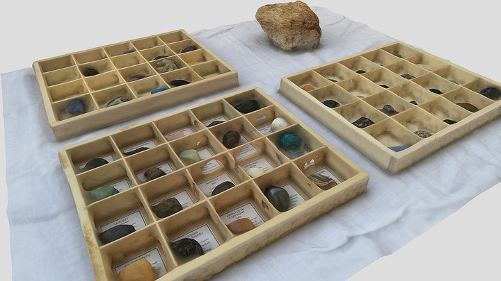 Mineral rock collection | #KnollingScanChallenge 3D Model
