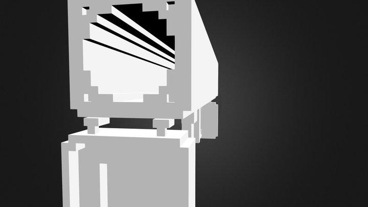 Blackbox Pixle 3D Model