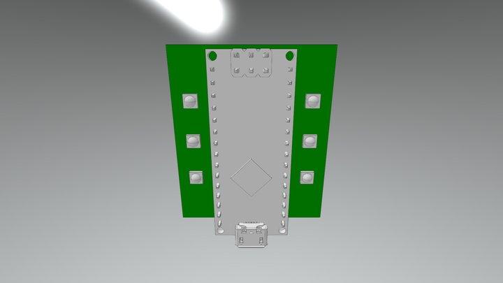 Killswitch PCB Rev2 3D Model