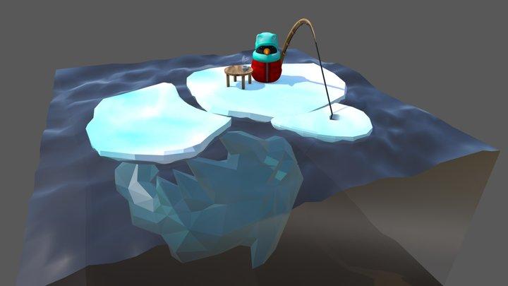 Ice Fishing | #3December 3D Model