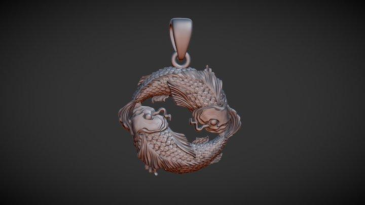 Pendant 009 Sketchfab 3D Model