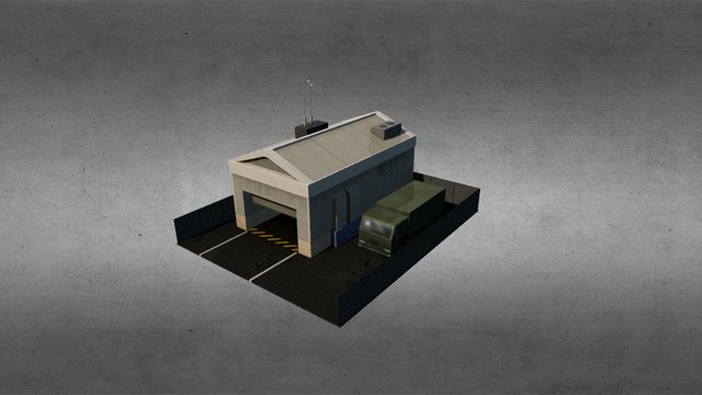 Ground Control Station 3D Model