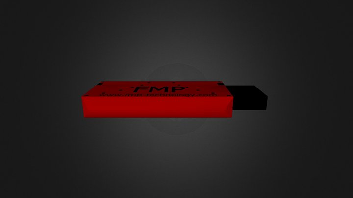 FMP USB Farbig 3D Model