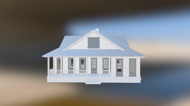 Chestnut Oak 3D Model