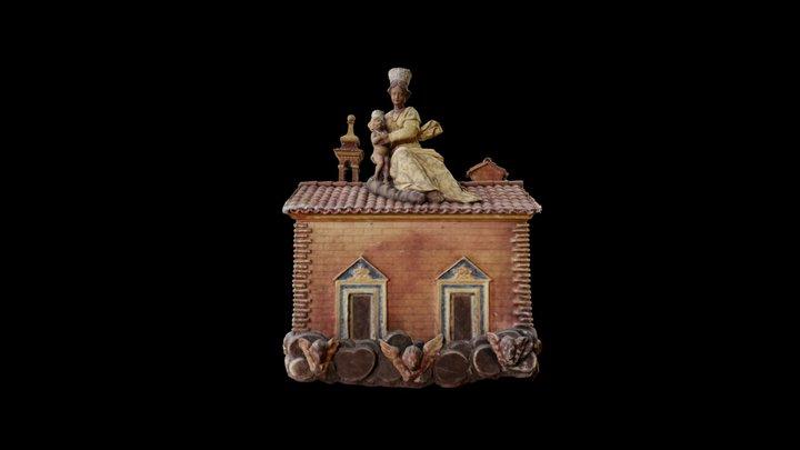Santa Casa di Loreto / Holy House of Loreto 3D Model