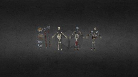 Skeletons 3D Model