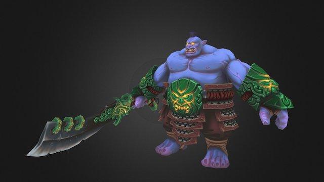 Sumoni Warrior 3D Model