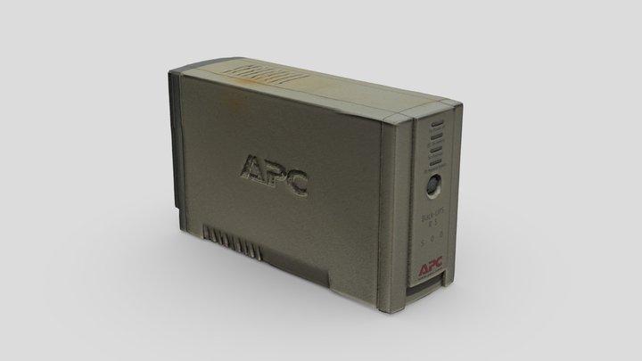 UPC Power backup photogrammetry - Game ready 3D Model
