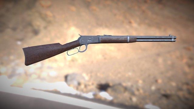 Winchester M1892 3D Model