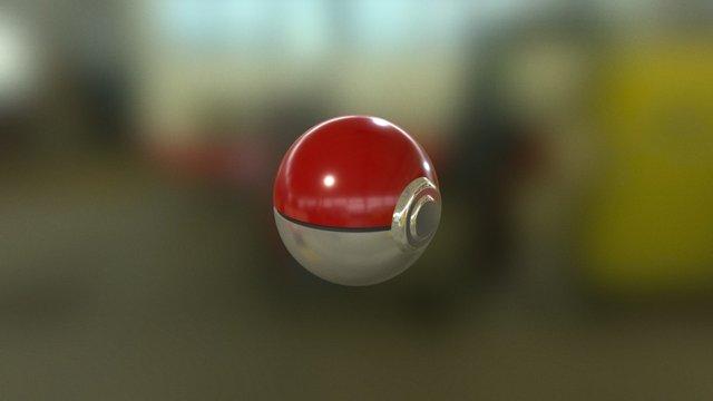 PokeBall 3D 3D Model