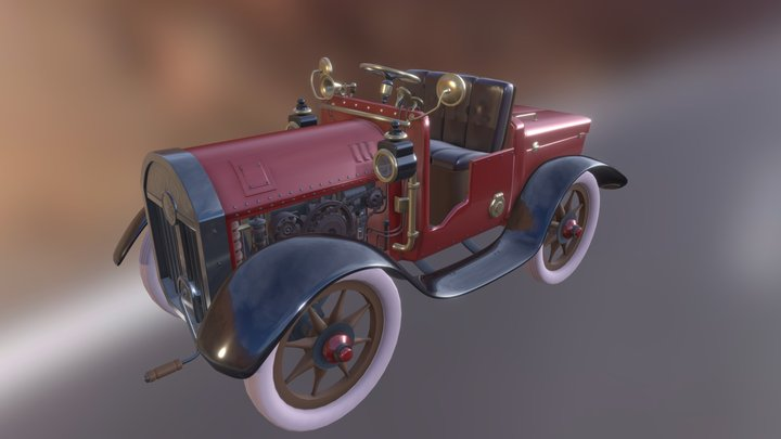 The Sultan's car 3D Model