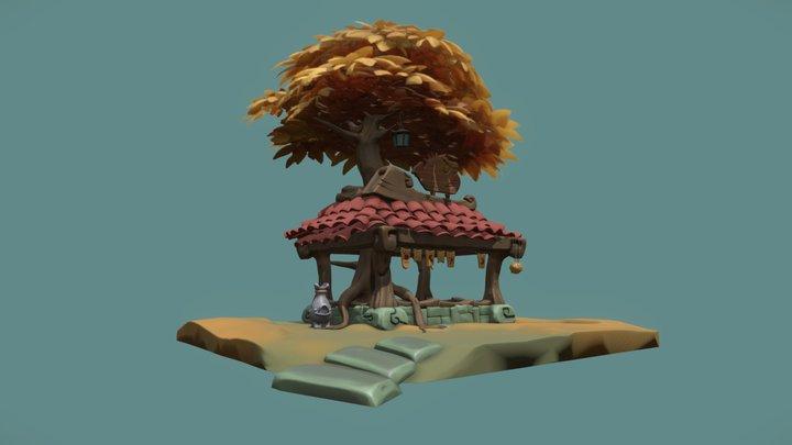 Sanctuary 3D Model