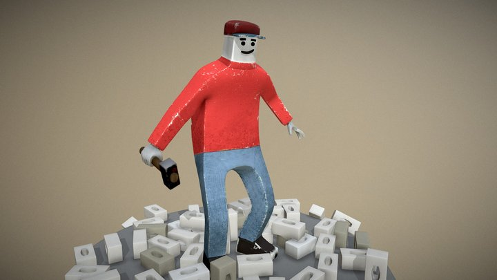 Mr Default2 3D Model