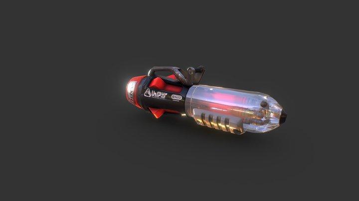 【Splatoon2】Ballpoint Splatling Nouveau 3D Model