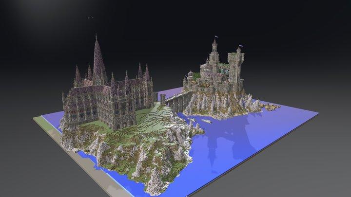Castle WIP 3D Model