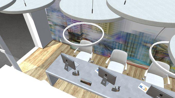 Travel Agency 3D Model