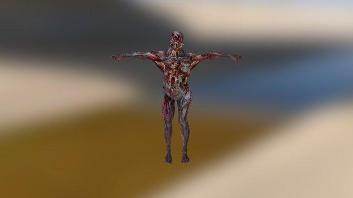 Bloodshot 3D Model