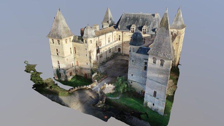 CHATEAU DE CAUMONT DÉTAILLÉ - Drone 3D Mapping 3D Model