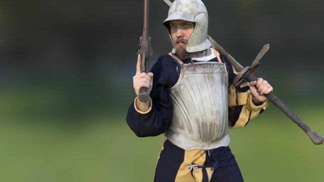 Renaissance Warrior 3D Model