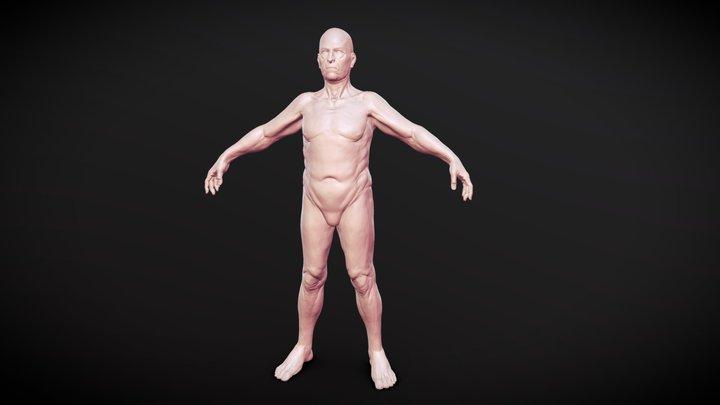Base Body_02 3D Model