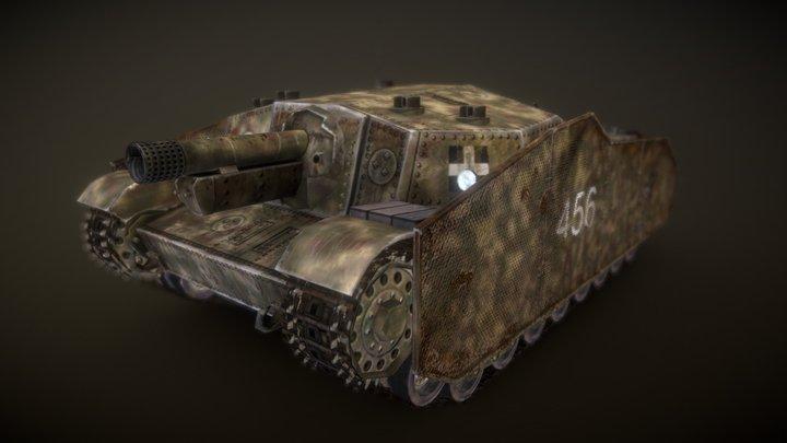 M43 Zrinyi game asset 3D Model