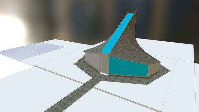 Palomar forma estudio 3D Model