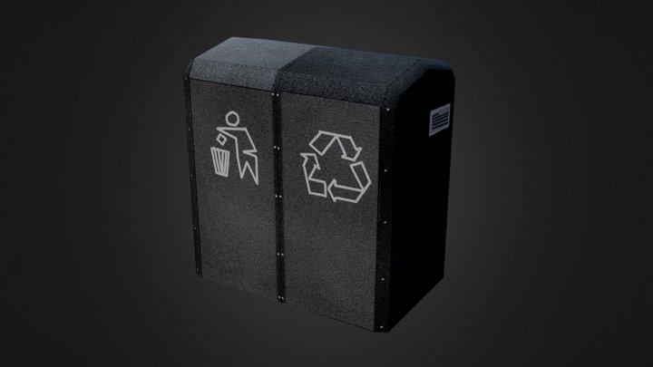 Dumpster From Richmond, VA 3D Model