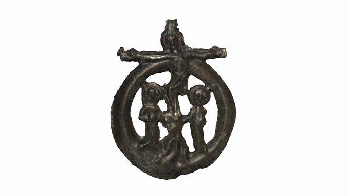 "A pilrim's badge (""Calvary"") 3D Model"