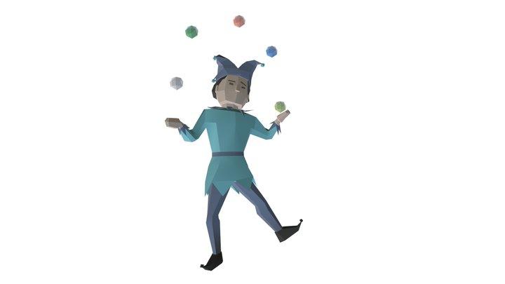 Juggler 3D Model