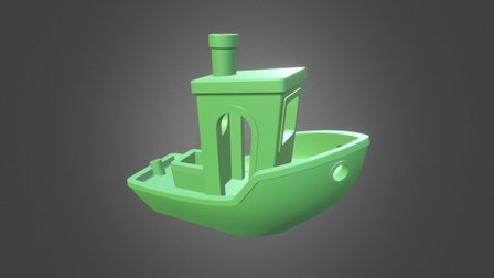 #3DBenchy - The jolly 3D printing torture-test 3D Model