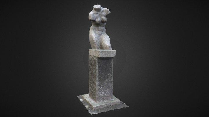 Statue of a woman 3D Model