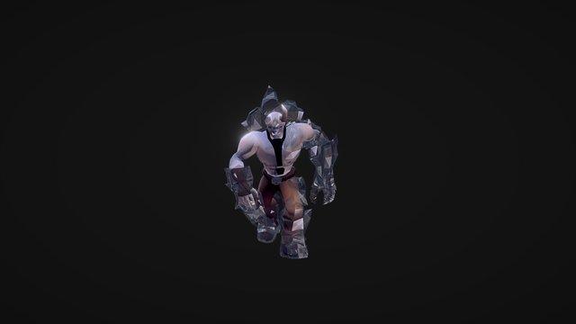 Ice Giant Boss 3D Model