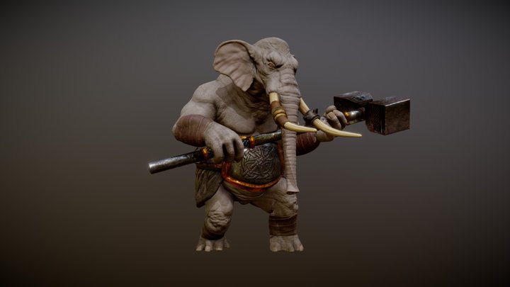 WERELEPHANT ANIMATIONS 3D Model