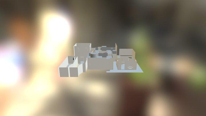 Off The Wall, Iowa 3D Model