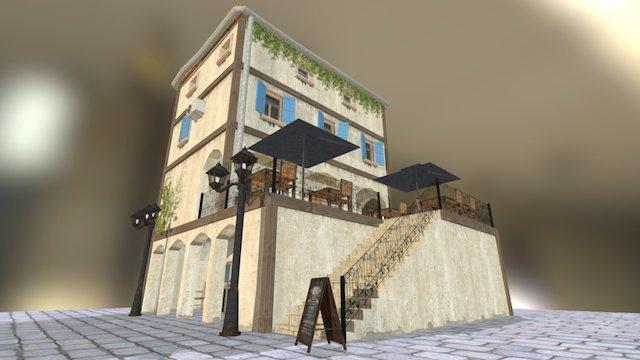 Restaurant/Shop (propped) 3D Model