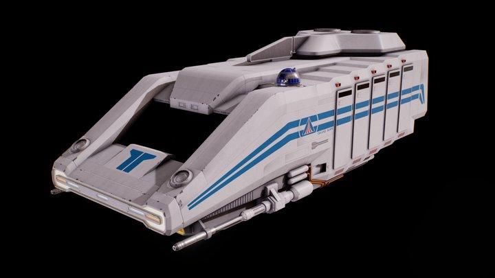 StarSpeeder 3000 3D Model