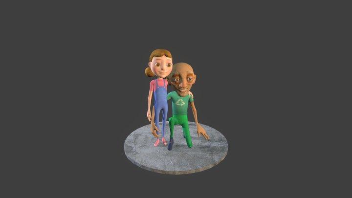 Gerard and Sam 3D Model