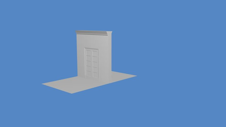 Door Detail 3D Model