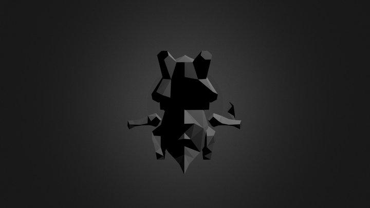 Edited Cubone 3 3D Model