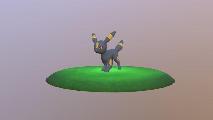 Umbreon 3D Model