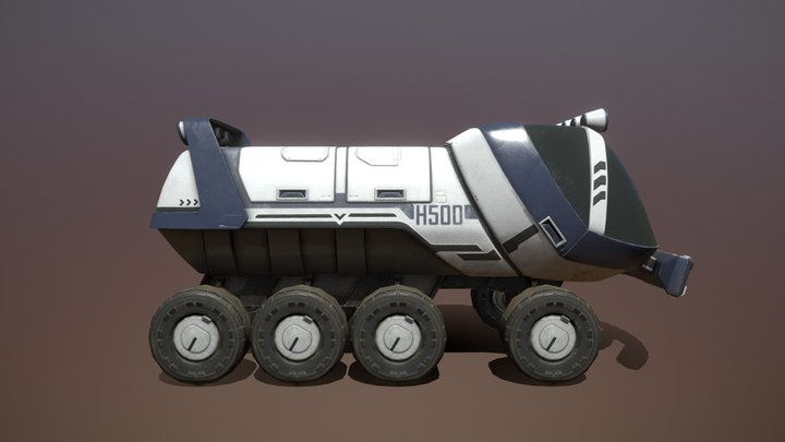 H500 - Explorer Truck 3D Model